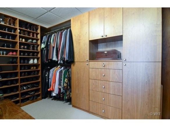 Walk-in closet -  Listed by Elizabeth Ballis. This Chicago condo is for sale for $2.199M.