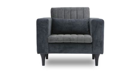 Strip Ash Grey Armchair| From Bryght.com