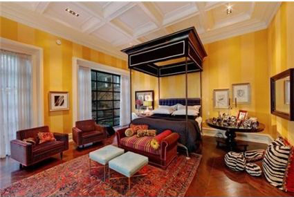 Yellow Two-toned Walls | Listed by Joseph Gasbarra and Chaz Walters